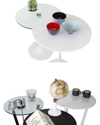 Сattelan Italia Coffee Table Set-02 3D Model