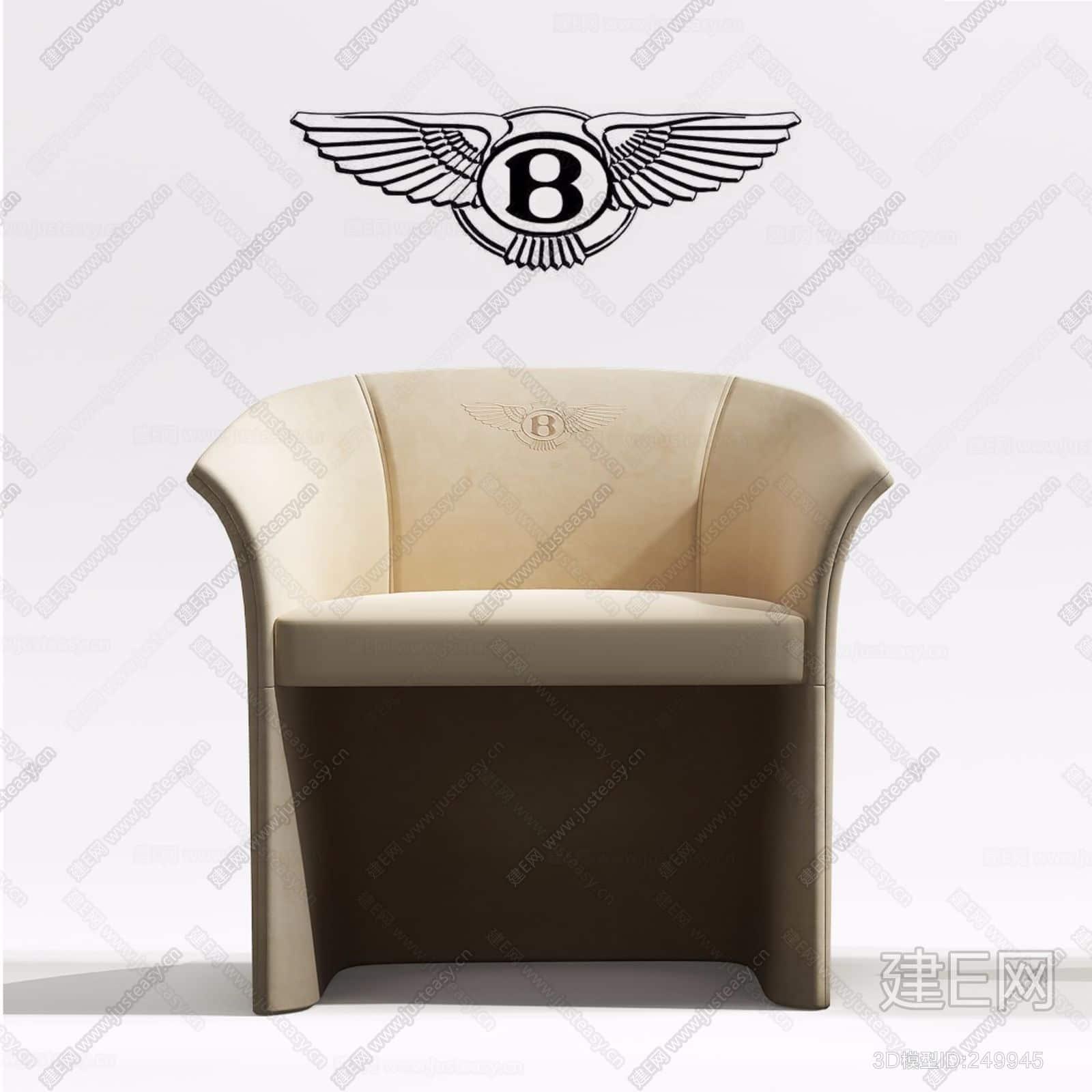意大利宾利Bentley Home休闲椅ID:249945