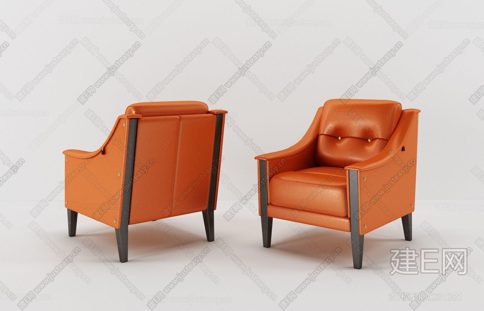 意大利宾利Bentley Home现代单人沙发ID:231081