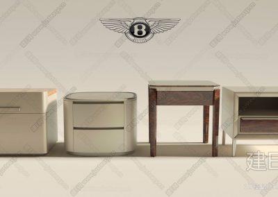 意大利 宾利 Bentley Home床头柜ID:254942