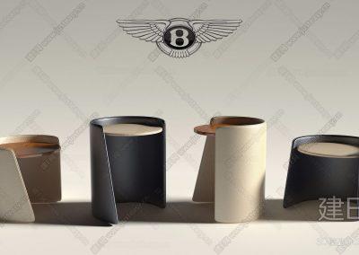 意大利 宾利 Bentley Home现代角几组合ID:253315