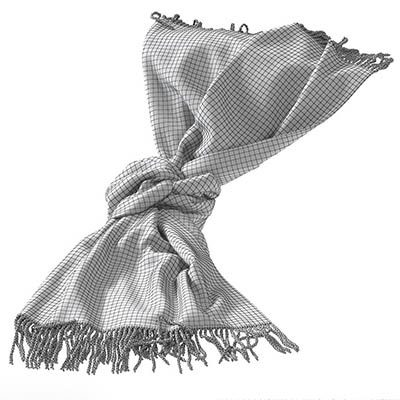 Decor Cloth 3D Model 3
