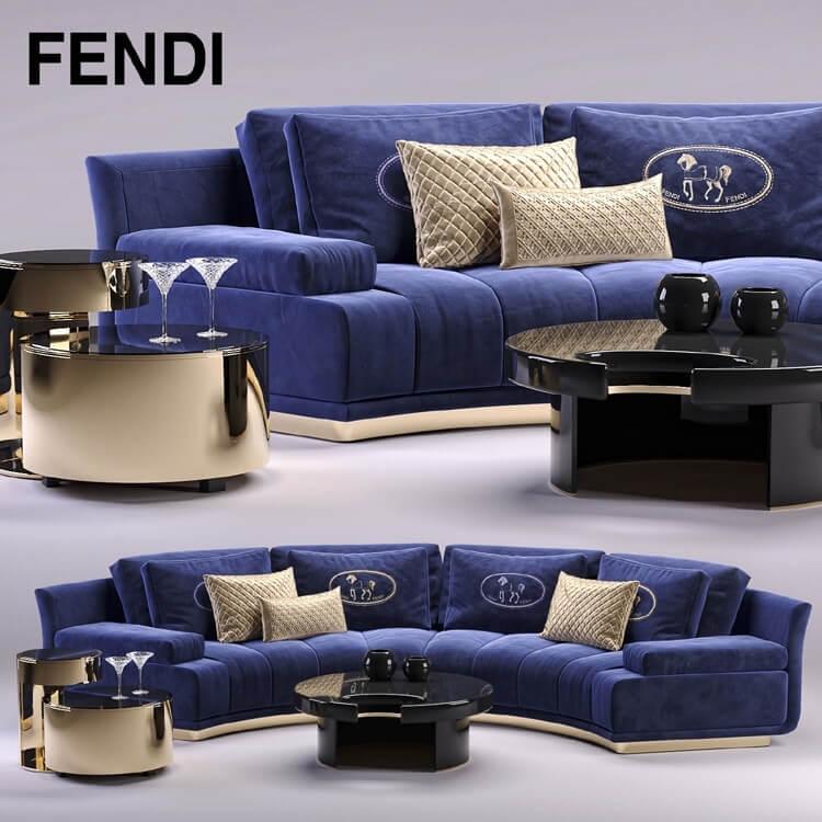 Fendi Sofa Model 1