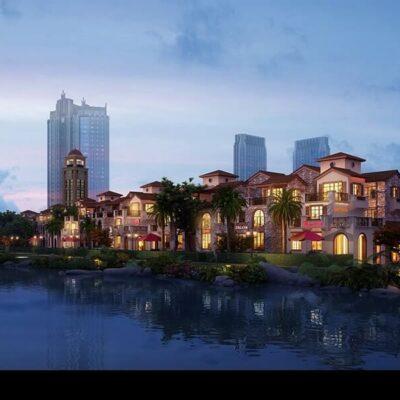 Resi Tower Shopping Mall 3D Model