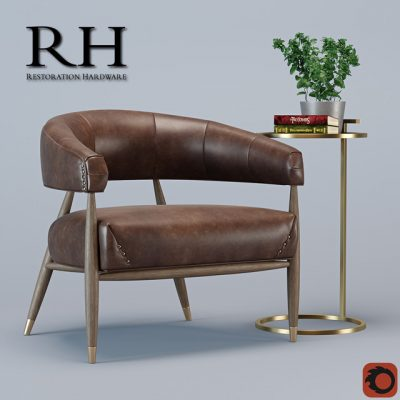 Decorative set 18 3D Model 01