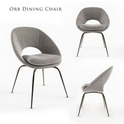 Orb Dining Chair 3D Model