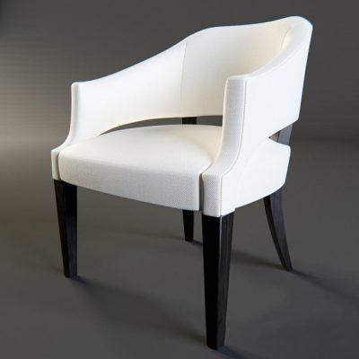 Castleton Ensemble London Armchair 3D Model