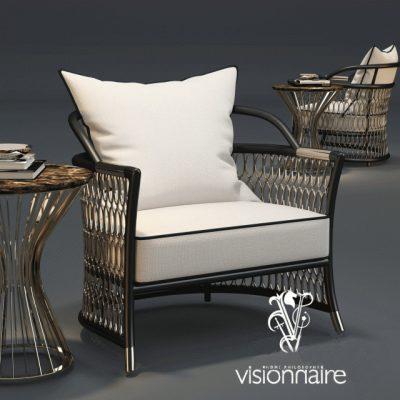 Visionnaire Home Philosophy Armchair 3D Model