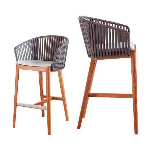 Marvelous Tribu Mood Sedia Alta Barstool 3D Model Machost Co Dining Chair Design Ideas Machostcouk