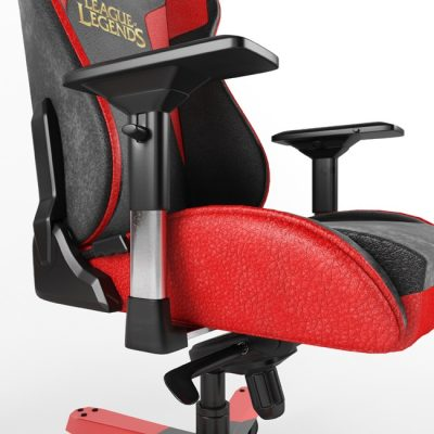 Gaming Chair for league of Legends 3D Model