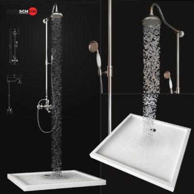 Bath mixer Saine 8053055 3D model
