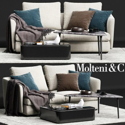 Molteni&C SLOANE Sofa 3D Model