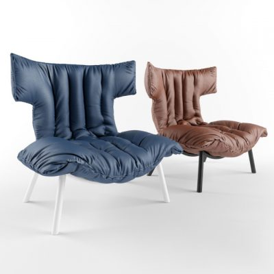 Ample Armchair 3D Model