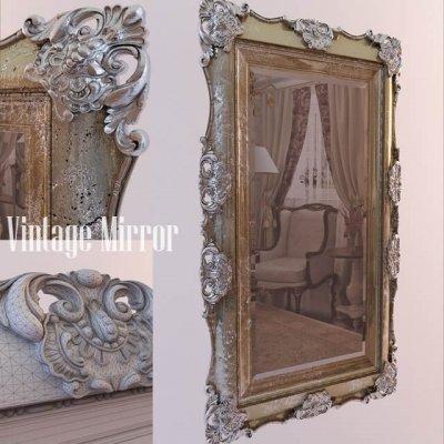 Classic Vintage Mirror