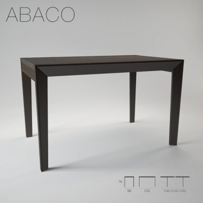 ABACO Paperator Kitchen Table 3D Model