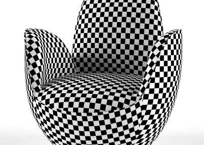 AIRCELL FAUTEUIL Armchair 3D model (11)