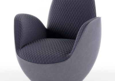 AIRCELL FAUTEUIL Armchair 3D model (22)