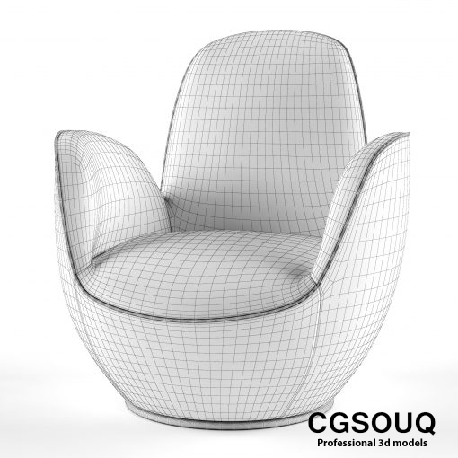 AIRCELL FAUTEUIL Armchair 3D model (33)