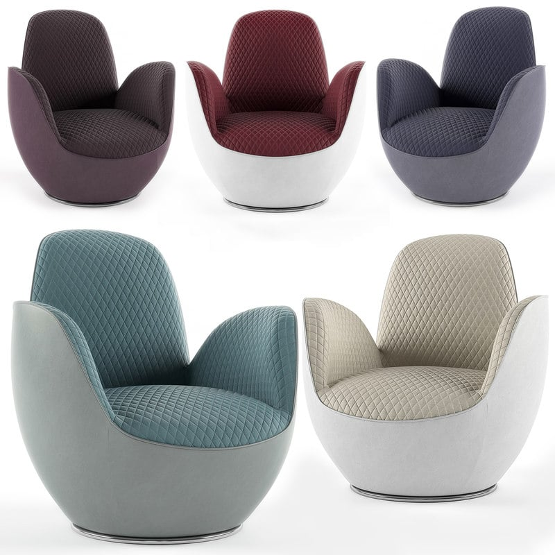 AIRCELL FAUTEUIL Armchair 3D model (44)