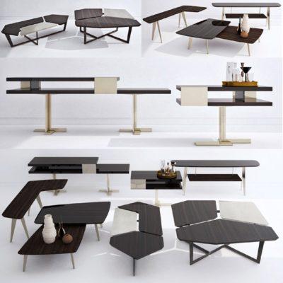 Arketipo Tables 3D Model