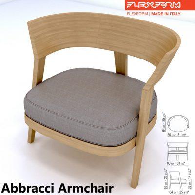 Abbracci Armchair 3D Model