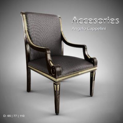 Accesories Angelo Cappelini Chair 3D Model