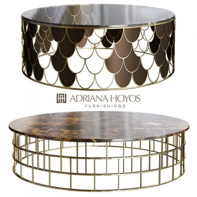 Adriana Hoyos – Bolero Cocktail Table 3D Model
