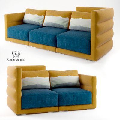 Albert&Shtein Fredo Sofa 3D Model