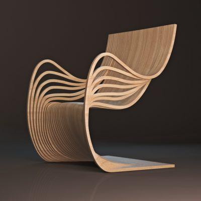 Alejandro Estrada Chair 3D Model