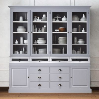 Alexandrine Provence style Display Cabinet 3D Model