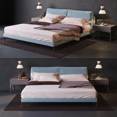 Alivar Lady-B Bed 3D Model
