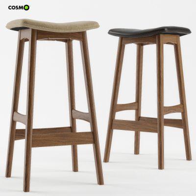 Allegra Bar Chair 3D Model