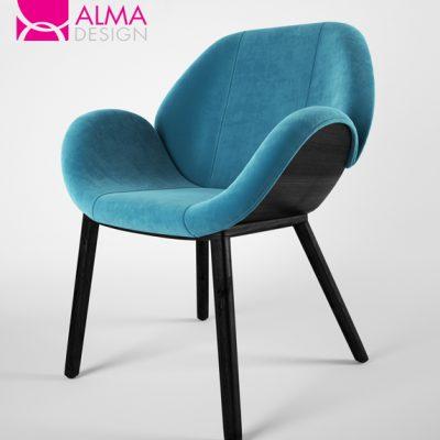 Alma Design Lips Chair 3D Model