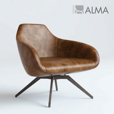 Alma Design X Big Armchair 3D Model
