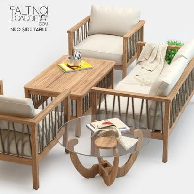 Altinci Cadde Serenity Garden Sofa Set 3D model 1