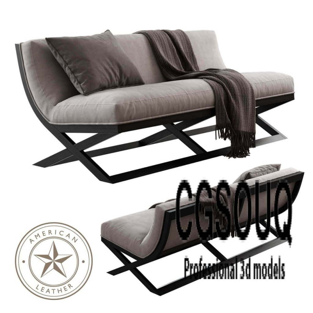 American Leather Tori Sofa 3D model