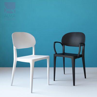 Amy Chair 3D Model