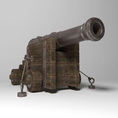 Ancient Cannon 3D models