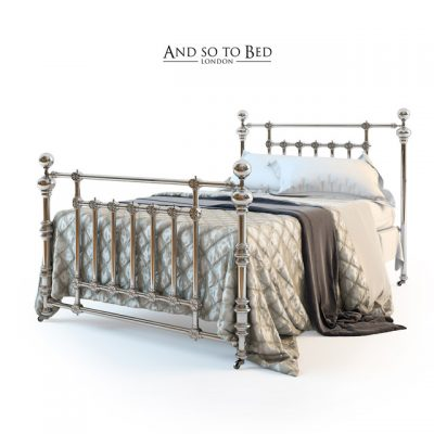 And So To Bed – Coriander Bed 3D Model