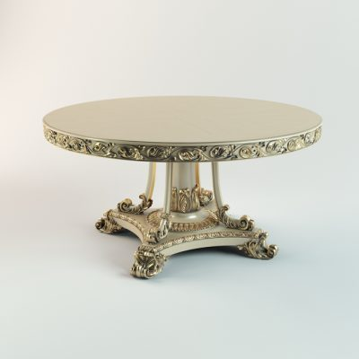 Angelo Cappellini Classical Table 3D Model