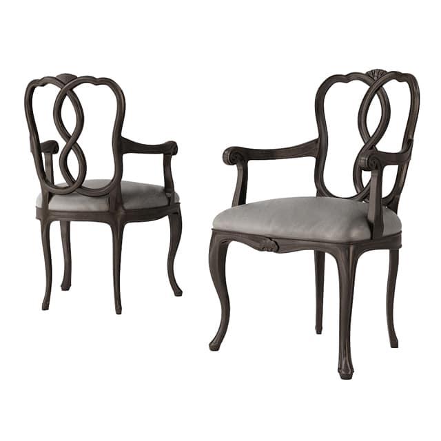Angelo Cappellini Opera 30088 Chair 3D Model