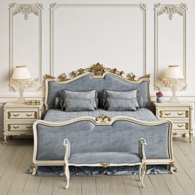 Angelo Cappellini Wagner Bedroom 3D Model