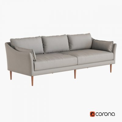 Antwerp Sofa 3D Model