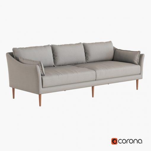 Antwerp Sofa 3D Model