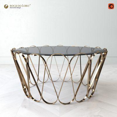 Aquarius Center Table 3D Model