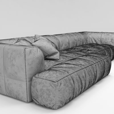 Arflex Strips Sofa 3D Model 3