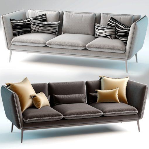Arik Ben Monaco Sofa 3D Model