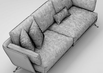 Arketipo Sofa 3D Model 2