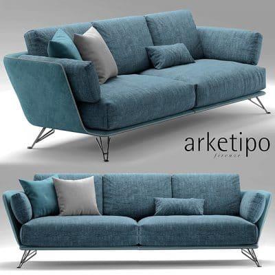 Arketipo Sofa 3D Model