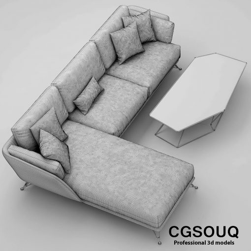 Arketipo morrison sofa 2 3D model 01 (1)